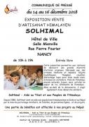 Exposition-Vente d'Artisanat Himalayen à Nancy 54000 Nancy du 14-12-2018 à 10:00 au 16-12-2018 à 19:00