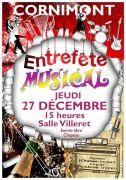 Concert Entrefête Musical Cornimont 2018 88310 Cornimont du 27-12-2018 à 15:00 au 27-12-2018 à 17:30