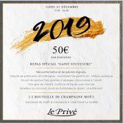 Soirée Réveillon Nouvel An Le Privé à Moulins-lès-Metz 57160 Moulins-lès-Metz du 31-12-2018 à 19:00 au 01-01-2019 à 06:00