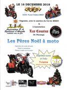 Le Père Noël à Moto à Briey 54150 Briey du 16-12-2018 à 10:00 au 16-12-2018 à 17:00