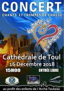 Concert Chants et Trompes de chasse à Toul 54200 Toul du 16-12-2018 à 15:00 au 16-12-2018 à 17:00