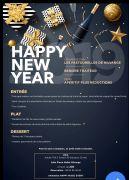 Réveillon de Nouvel An à Nilvange SALLE PIERRE MELLET  57240 NILVANGE du 31-12-2018 à 20:00 au 01-01-2019 à 04:00