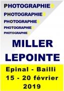 Expo photos Galerie du Bailly à Epinal 88000 Epinal du 15-02-2019 à 11:00 au 20-02-2019 à 19:00