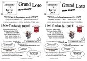 Loto spécial bons d'achat à Metz 57000 Metz du 13-01-2019 à 12:30 au 13-01-2019 à 18:30