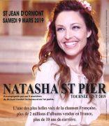 Concert Natasha Saint Pier à Saint Jean d'Ormont 88210 Saint-Jean-d'Ormont du 09-03-2019 à 20:30 au 09-03-2019 à 23:00