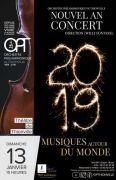 Concert du Nouvel An Thionville Musiques du Monde
