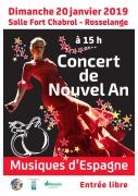 Concert de Nouvel An à Rosselange 57780 Rosselange du 20-01-2019 à 15:00 au 20-01-2019 à 17:00
