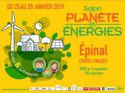 Planète Energies Epinal Salon des économies d'énergie 88000 Epinal du 25-01-2019 à 10:00 au 28-01-2019 à 19:00