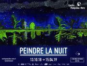 Exposition Peindre la Nuit au Centre Pompidou Metz 57000 Metz du 13-10-2018 à 10:00 au 15-04-2019 à 18:00