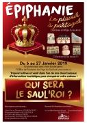 Qui sera le Saul'roi?  Trouvez la fève et recevez un cadeau 57170 Château-Salins du 06-01-2019 à 10:00 au 27-01-2019 à 10:00