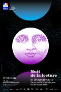 La Nuit de la Lecture en Lorraine Meurthe-et-Moselle, Vosges, Meuse, Moselle du 19-01-2019 à 11:00 au 19-01-2019 à 23:00