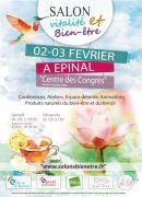 Salon Vitalité Bien-être à Epinal 88000 Epinal du 02-02-2019 à 10:00 au 03-02-2019 à 18:00