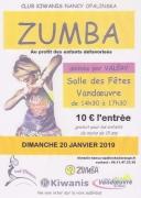 Zumba géante à Vandoeuvre-lès-Nancy 54500 Vandoeuvre-lès-Nancy du 20-01-2019 à 14:30 au 20-01-2019 à 17:30