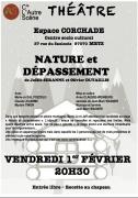 Pièce de théâtre Nature et dépassement à Metz 57000 Metz du 01-02-2019 à 20:30 au 01-02-2019 à 22:50