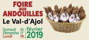 La Foire aux Andouilles au Val d'Ajol 88340 Le Val-d'Ajol du 16-02-2019 à 10:00 au 18-02-2019 à 18:00