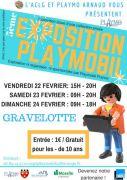 Exposition Playmobil à Gravelotte 57130 Gravelotte du 22-02-2019 à 15:00 au 24-02-2019 à 18:00