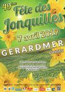 Fête des Jonquilles Gérardmer 88400 Gérardmer du 06-04-2019 à 14:30 au 07-04-2019 à 17:00
