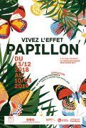 Exposition Vivez l'Effet Papillon au Jardin Botanique Nancy 54600 Villers-lès-Nancy du 13-12-2018 à 09:30 au 10-03-2019 à 16:45