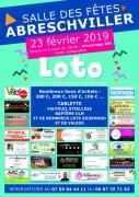 Super Loto à Abreschviller 57560 Abreschviller du 23-02-2019 à 18:30 au 24-02-2019 à 01:00