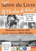 Salon du Livre à Saint-Nicolas-de-Port 54210 Saint-Nicolas-de-Port du 03-02-2018 à 10:00 au 03-02-2018 à 18:00
