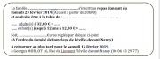 Repas dansant du Jumelage à Fléville-devant-Nancy 54710 Fléville-devant-Nancy du 23-02-2019 à 20:00 au 24-02-2019 à 02:30