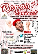 Repas Dansant à Moutiers 54660 Moutiers du 09-02-2019 à 20:00 au 10-02-2019 à 02:00