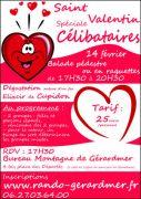Balade Saint-Valentin Gérardmer spécial célibataires 88400 Gérardmer du 14-02-2019 à 17:30 au 14-02-2019 à 20:30