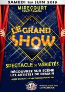 Le Grand Show Spectacle de Variété à Mirecourt 88500 Mirecourt du 01-06-2019 à 20:00 au 01-06-2019 à 23:00
