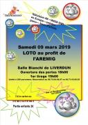 Loto à Liverdun 54460 Liverdun du 09-03-2019 à 18:00 au 09-03-2019 à 23:59
