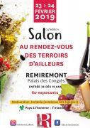 Salon Rendez-vous Terroirs d'Ailleurs Remiremont  88200 Remiremont du 23-02-2019 à 09:00 au 24-02-2019 à 19:00