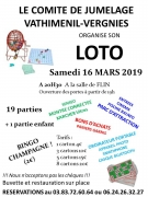 Super Loto à Flin 54122 Flin du 16-03-2019 à 19:00 au 16-03-2019 à 23:30
