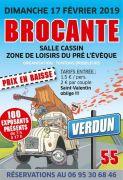 Brocante de la Saint-Valentin à Verdun 55100 Verdun du 17-02-2019 à 07:00 au 17-02-2019 à 17:00