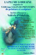 Salon de Printemps Peinture et Sculpture à Dombasle 54110 Dombasle-sur-Meurthe du 02-03-2019 à 14:00 au 10-03-2019 à 18:00