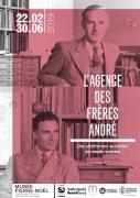 Exposition l'Agence des frères André à Saint-Dié-des-Vosges 88100 Saint-Dié-des-Vosges du 23-02-2019 à 13:30 au 30-06-2019 à 17:30