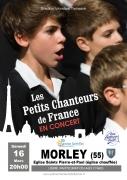 Les Petits chanteurs de France à Morley 55290 Morley du 16-03-2019 à 20:00 au 16-03-2019 à 21:30