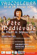 Fête Médiévale Vaucouleurs Départ de Jeanne d'Arc