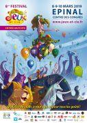 Festival Jeux et Cie à Épinal 88000 Epinal du 08-03-2019 à 13:30 au 10-03-2019 à 18:00