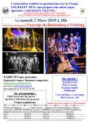Repas Spectacle Ouvrage du Hackenberg 57920 Veckring du 02-03-2019 à 20:00 au 02-03-2019 à 23:00