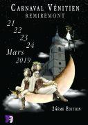 Carnaval Vénitien de Remiremont 88200 Remiremont du 21-03-2019 à 19:00 au 24-03-2019 à 17:00