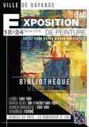 Exposition de Peinture à Hayange 57700 Hayange du 18-02-2019 à 14:00 au 24-02-2019 à 19:00