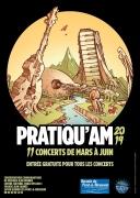 Festival Musique Pratiqu'AM 2019 autour Pont-à-Mousson 54700 Pont-à-Mousson du 01-03-2019 à 20:30 au 28-06-2019 à 22:30