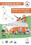 Caravane du sport 2019 à Nomeny 54610 Nomeny du 23-03-2019 à 13:00 au 23-03-2019 à 18:30