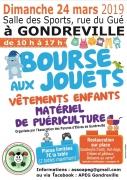 Bourse aux Jouets et Vêtements pour Enfants à Gondreville 54840 Gondreville du 24-03-2019 à 10:00 au 24-03-2019 à 17:00
