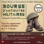Salon Milita Metz bourse antiquités militaires 57000 Metz du 28-04-2019 à 07:00 au 28-04-2019 à 17:00