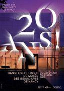 Exposition 20 Ans Musée des Beaux Arts Nancy 54000 Nancy du 23-02-2019 à 10:00 au 24-06-2019 à 18:00