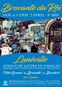 Brocante du Roi à Lunéville 54300 Lunéville du 06-04-2019 à 08:00 au 07-04-2019 à 18:00