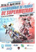 Championnat de France Supermotard à Juvaincourt 88500 Juvaincourt du 20-04-2019 à 08:00 au 21-04-2019 à 18:30