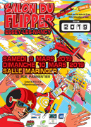Salon du Flipper à Essey-lès-Nancy 54270 Essey-lès-Nancy du 09-03-2019 à 10:00 au 10-03-2019 à 18:00