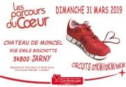 Randonnée Les Parcours du Coeur à Jarny 54800 Jarny du 31-03-2019 à 08:00 au 31-03-2019 à 15:00