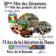 Fête Géranium Produits du Terroir à Thaon Capavenir Vosges 88150 Thaon-les-Vosges du 11-05-2019 à 09:00 au 12-05-2019 à 18:00
